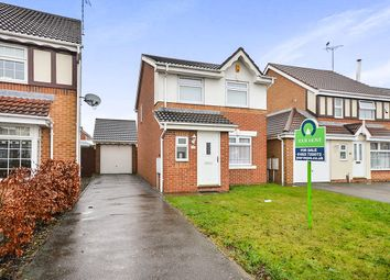 Thumbnail 3 bed detached house for sale in Franderground Drive, Kirkby-In-Ashfield, Nottingham