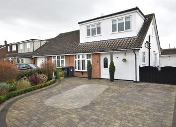 Thumbnail 3 bed property for sale in Abbey Road, Hullbridge, Hockley
