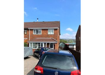 Thumbnail 4 bed semi-detached house for sale in Brynhelig Villas, Ebbw Vale