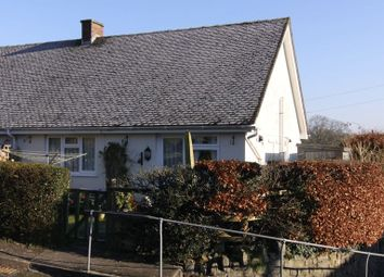 Thumbnail 2 bed semi-detached bungalow to rent in Harveys Close, Sampford Courtenay, Okehampton