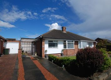 Thumbnail 2 bed semi-detached bungalow for sale in Worcester Way, Wideopen, Newcastle Upon Tyne