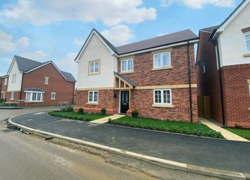 Thumbnail 4 bed detached house for sale in Churchill Avenue, Kibworth Harcourt, Leicestershire