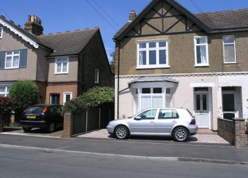 Thumbnail 3 bed semi-detached house to rent in Clarendon Road, Ashford