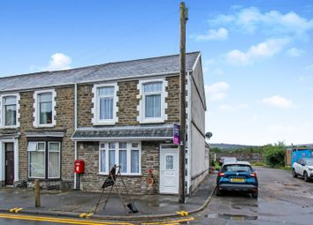 Thumbnail 3 bed end terrace house for sale in Church Road, Cadoxton