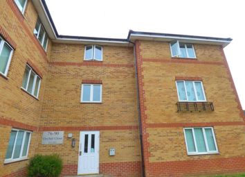Thumbnail 2 bed flat for sale in Orchid Close, Luton