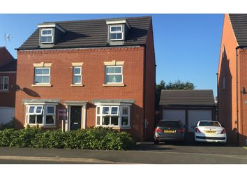 Thumbnail 5 bed detached house for sale in Earlswood Way, Cannock