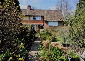 Thumbnail 3 bed semi-detached house for sale in Upper Mount, Haslemere