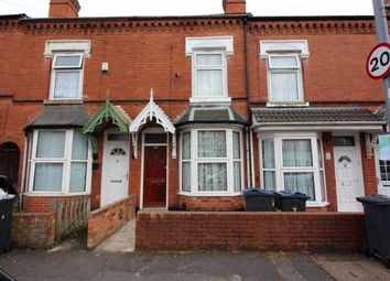 Thumbnail 5 bedroom terraced house for sale in Abbotsford Road, Sparkhill, Birmingham