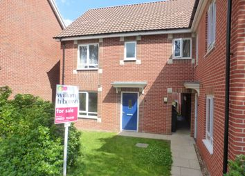 Thumbnail 1 bed flat for sale in Southalls Way, Norwich