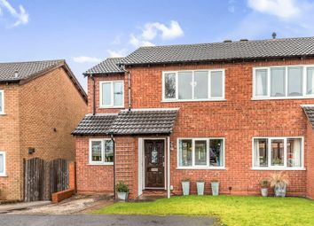 Thumbnail 3 bed semi-detached house for sale in Curlew Close, Lichfield
