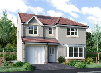"Thumbnail 4 bed detached house for sale in ""Fletcher"" at Murieston Road, Murieston, Livingston"