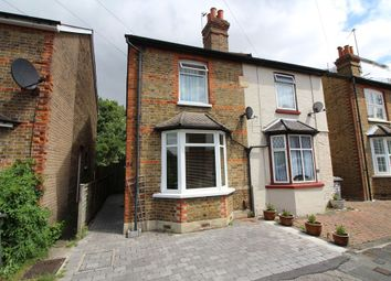 Thumbnail 3 bed semi-detached house for sale in Glebe Road, Egham