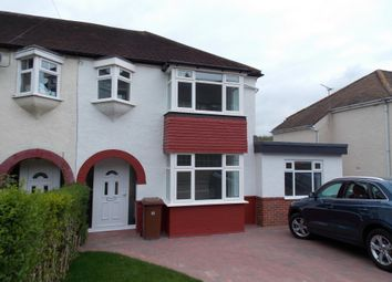 Thumbnail 4 bed semi-detached house for sale in Grange Way, Rochester