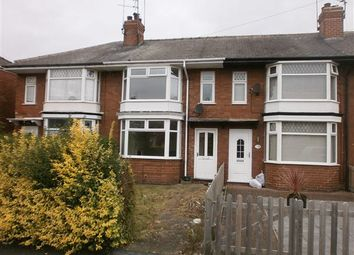 Thumbnail 3 bed terraced house for sale in Nelson Road, Hull