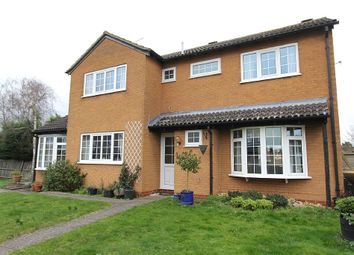 Thumbnail 4 bed detached house for sale in The Leys, Alconbury, Huntingdon, Cambridgeshire