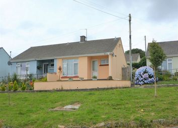 Thumbnail 2 bed semi-detached bungalow for sale in Mylor Bridge, Falmouth, Cornwall