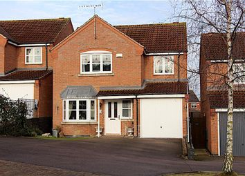 Thumbnail 4 bed detached house for sale in Coxmoor Close, Grantham