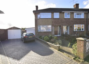 Thumbnail 3 bed end terrace house to rent in Glenton Close, Romford