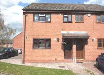 Thumbnail 3 bed semi-detached house for sale in Alderney Close, Coventry