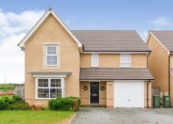 Thumbnail Detached house for sale in Montague Crescent, Brooklands, Milton Keynes