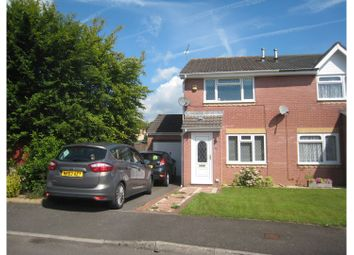 Thumbnail 2 bed semi-detached house for sale in Gifford Close, Cwmbran