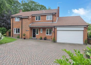 Thumbnail 4 bed detached house for sale in Hall Meadow, Bonby, Brigg