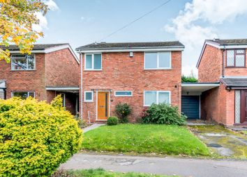 Thumbnail 3 bed detached house for sale in Spencer Road, Lichfield