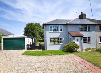 Thumbnail 3 bed semi-detached house to rent in Thurlow Road, Great Bradley, Newmarket