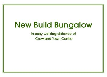 Thumbnail 2 bedroom bungalow for sale in Broadway, Crowland, Peterborough
