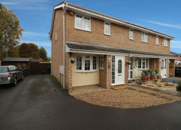 Thumbnail 3 bed end terrace house for sale in Sandpiper Road, Bridgwater