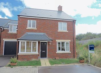 Thumbnail 4 bedroom link-detached house for sale in Haddenstone Close, Daventry