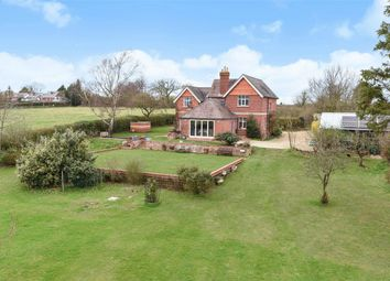 Thumbnail 4 bedroom detached house for sale in Field House, Barkham, Berkshire