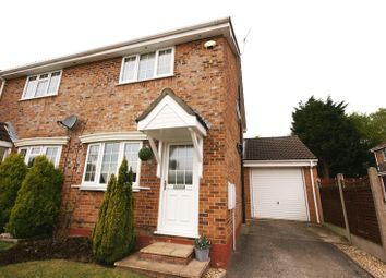 Thumbnail 2 bed semi-detached house for sale in Chaffinch Close, Creekmoor, Poole