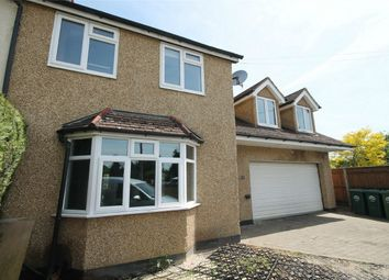 Thumbnail 4 bed semi-detached house for sale in Rosary Gardens, Ashford, Surrey