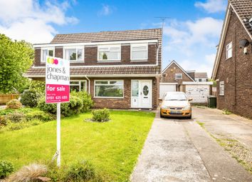 Thumbnail 3 bed semi-detached house for sale in Grange Farm Crescent, West Kirby, Wirral