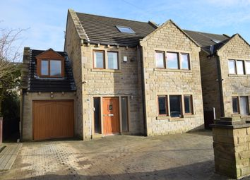 Thumbnail 5 bedroom detached house for sale in Laund Road, Salendine Nook, Huddersfield