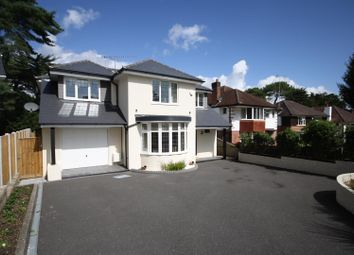 Thumbnail 5 bed detached house for sale in Compton Drive, Lower Parkstone, Poole