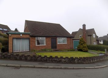 Thumbnail 2 bed detached bungalow for sale in Hillside Avenue, Ashbourne Derbyshire