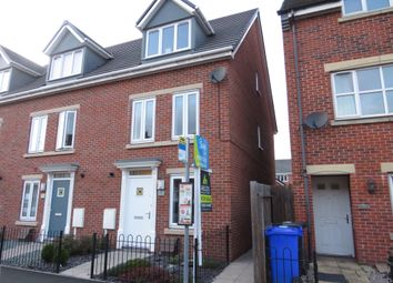 Thumbnail 3 bed end terrace house for sale in Shobnall Street, Burton-On-Trent