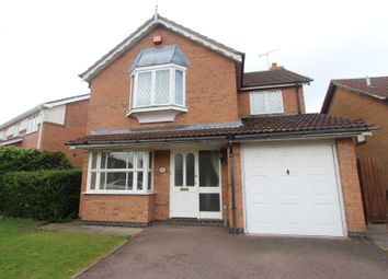 Thumbnail 4 bedroom detached house to rent in James Gavin Way, Oadby, Leicester