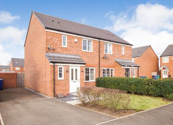 Thumbnail 3 bed semi-detached house for sale in Edale Close, Warrington