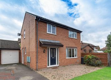 Thumbnail 3 bed detached house to rent in Banbury Close, West Hunsbury, Northampton