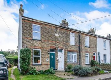 Thumbnail 2 bed end terrace house for sale in Elm Tree Cottages, Upper Stoke, Rochester, Kent