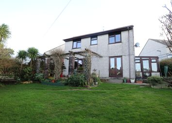 Thumbnail 4 bed detached house for sale in Mount Pleasure, Beacon, Camborne