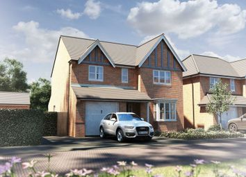 Thumbnail 4 bed detached house for sale in The Buckland, Alderley Gate, Congleton
