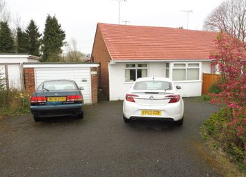 Thumbnail 2 bed semi-detached bungalow for sale in Station Road, Mickleover, Derby