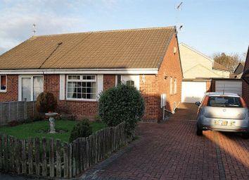 Thumbnail 1 bed semi-detached bungalow for sale in Kirklands, Burradon, Cramlington