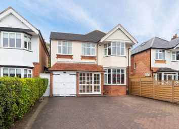 Thumbnail 4 bed detached house for sale in Stratford Road, Shirley, Solihull