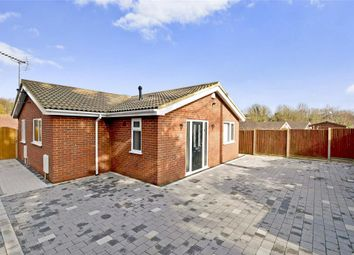 Thumbnail 3 bedroom detached bungalow for sale in Eythorne Road, Shepherdswell, Dover, Kent