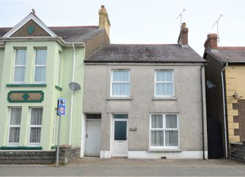 Thumbnail 3 bed end terrace house for sale in Market Street, Whitland